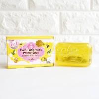 Jellys Pure Face Mask Power Soap / Sabun Cuci Muka Jellys / ORIGINAL