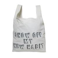 Rootzie Bag Tas Belanja Blacu Show Off Quotes - White Gading