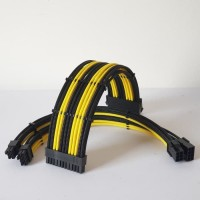 Paket Custom Sleeving 24p 8p 6p extension cable