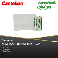 Camelion A2 1000 mAh Bp2- NimH Free Battery Case