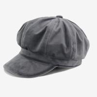 1ac1a085d8b5a7 DeePom Female Beret Women's Winter Hat Corduroy Newsboy Cap Fashion