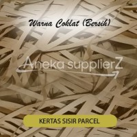 Kertas Serut Potongan Cacah Shredder shredded Coklat Bersih