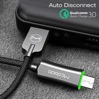McDodo Auto Disconnect Micro USB Data Cable 1 M QC 3.0 qualcom 3 amper