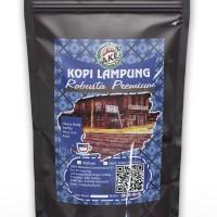 Biji Kopi Robusta Lampung premium