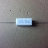 resistor 5 watt 0,33 oHm