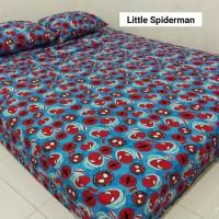 Sprei Homemade Karakter Anak SIZE 90 X 200 Motif litle spiderman