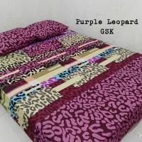 Sprei Homemade Karakter Anak SIZE 180 X 200 Motif Purple Leopard