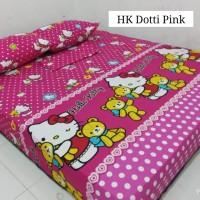 Sprei Homemade Karakter Anak SIZE 90 X 200 hk dotty pink