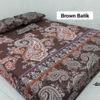 Sprei Homemade Karakter Anak SIZE 90 X 200 brown batik