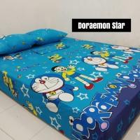 Sprei Homemade Karakter Anak SIZE 90 X 200 Doraemon Star