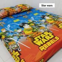 Sprei Homemade Karakter Anak SIZE 200 X 200 Motif star wars