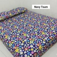 Sprei Homemade Karakter Anak SIZE 90 X 200 Motif navy tsum tsum
