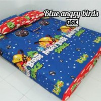 Sprei Homemade Karakter Anak SIZE 90 X 200 blue angribird