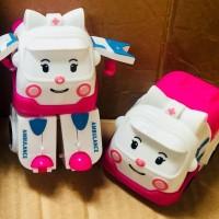 Mainan Anak Robocar Poli Transformable Robot Car