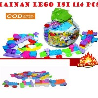 Mainan Lego Anak Murah MERIAH Isi 114 PCS