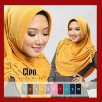 Kerudung / Jilbab Instan Cleo Pad Antem - Hitam Terpopuler