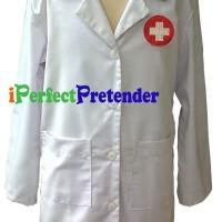 Harga kostum jas dokter kecil uk 5 tahun baju dokter anak tangan | antitipu.com
