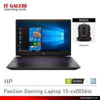 Laptop Gaming HP Pavilion Gaming Laptop 15-cx0056tx Murah
