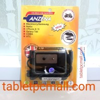 Anzena Motorcycle Multi Charger Anti Air Tombol On Off