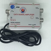 Booster Antena TV / CATV Signal Amplifier 2 Way