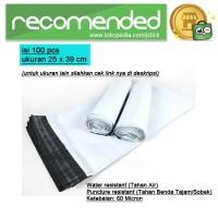 100 PCS Plastik Packing / Polymailer Polybag - Ukuran 25x39 cm