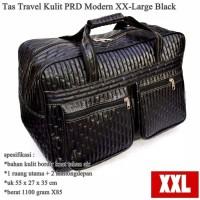 tas trevel kulit super big xxl black