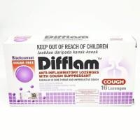 Difflam Cough Suppressant Blackcurrant (16 lozenges)