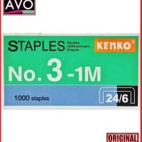 Isi Staples Stapler besar Hekter JOYKO Kenko Max No.3-1M 24/6 HD 50
