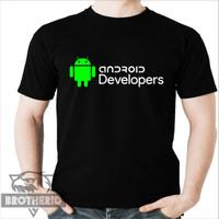 Kaos Android Developers Developer Aplikasi