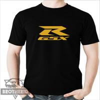 Kaos Motor GSX R Gold Emas