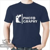 Kaos Kamera Fotografer Fotografi