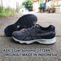 SEPATU Asics Gel Sonoma 3 ORIGINAL T724N Sepatu Trail Sepatu Running