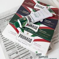 Proraso Shaving Cream Krim Cukur HIJAU/MERAH/PUTIH - 150ml