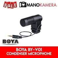 Boya BY-V01 Condenser Microphone Shotgun For Camera BYV01 Original