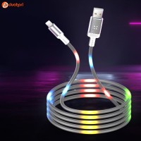 IPHONE LIGHTNING LED Dancing Cable Voice Control Dancing Kabel