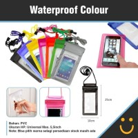 Waterproof Case Hp Smartphone Sarung Waterproof Anti Air Universal