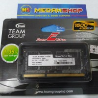 MEMORY CARD TEAM SODIMM 4GB DDR3 1600 (1.35v)