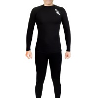 Setelan Baselayer Lengan Panjang Celana panjang Pakaian Renang/Fitnes
