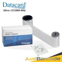 RIBBON SILVER DATACARD SP25 PLUS | CD168 | SD260 | SD360 | 532000-006