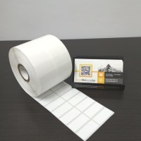 KERTAS STICKER LABEL PRINTER BARCODE 33 X 15 MM - 2 LINE - SEMICOATED