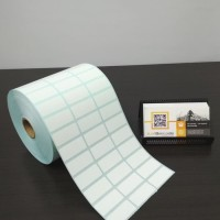 LABEL STICKER BARCODE 33mm X 15mm ( 3 LINE ) SEMICOATED isi 10.000 pcs