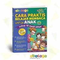 Harga buku abacaga cara praktis belajar membaca untuk anak usia 5 6 | antitipu.com