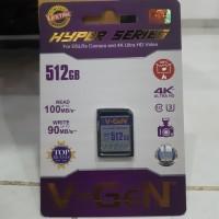 V-Gen SD Card 512GB Class 10 Hyper || SD Card Vgen