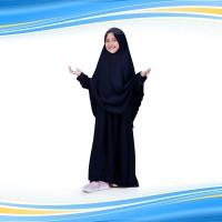 C9 Bajuyuli - Baju Muslim Anak Perempuan Gamis Syar i Polos Wolly Crep