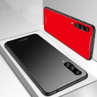 HUAWEI Y6 2018 TEMPERED GLASS COLOR HARD SOFT TPU CASE