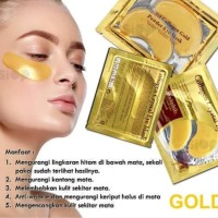 collagen eye masker gold