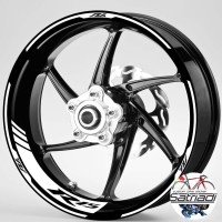 Stiker Velg Sticker Decal Motor Yamaha YZF R15 Strip V1