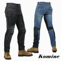 LARIS Celana Komine Pk 719 Kevlar Jeans Celana Touring Jeans protect