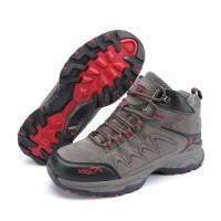 sepatu gunung SNTA 498 GREY/GREEN