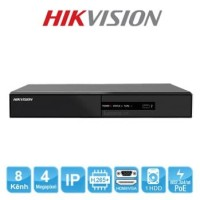 NVR HIKVISION DS-7108NI-Q1/8P/M POE 8 CH Support POE ONVIF 8CH